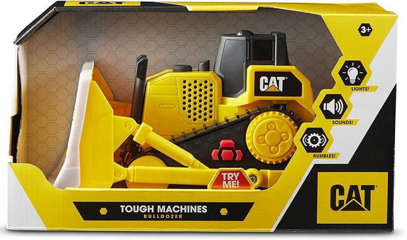 Funris Toys Cat Light And Sound Tough Machines Bulldozer 10inch