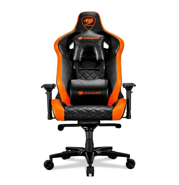 Gaming Chair Gaming Accessories Cougar Armor Titan Gaming Chair - Orange
