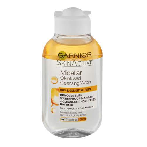 Garnier Beauty Garnier Micellar Water Oil Waterproof Make-up Remover Travel Size, 100ml