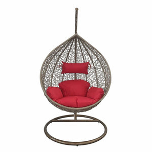 Generic Outdoor Florence Hanging Swing Red