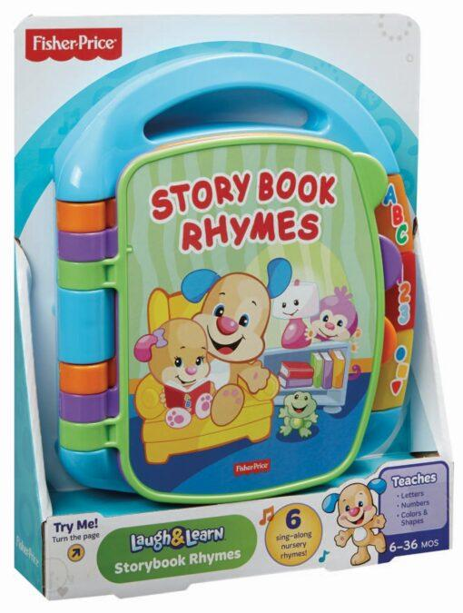 Generic Toys Fisher-Price Storybook Rhymes Electronic Learning Book Toy – CDH26
