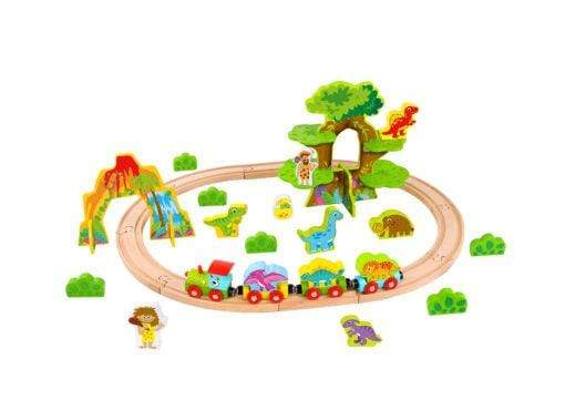 Generic Toys Tooky Toys Dinosaur Train Set-Medium