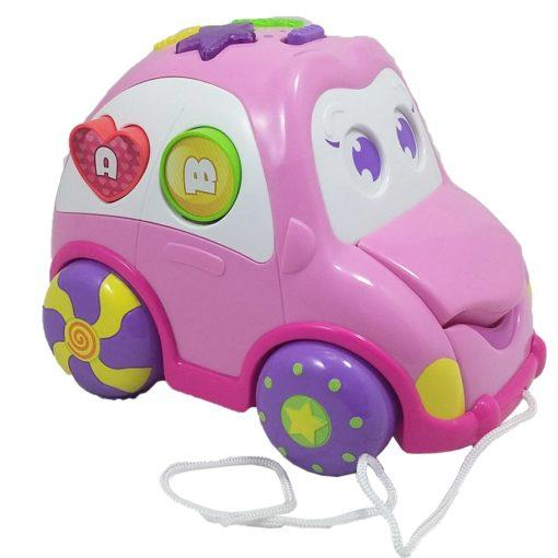 Generic Toys Winfun Car Rhymes and Sorter – Pink 0693
