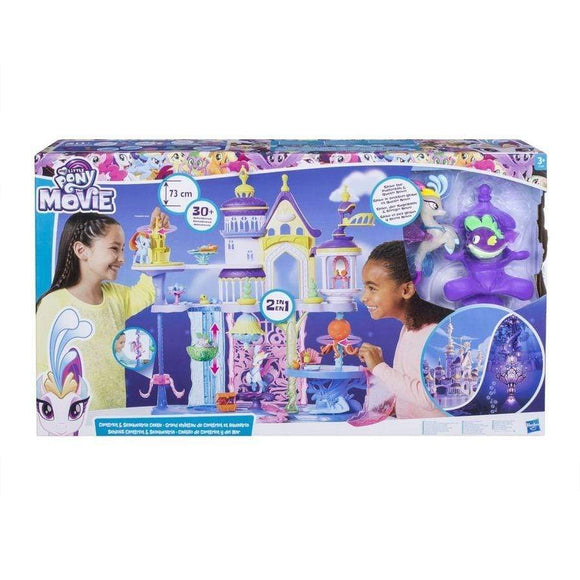 Hasbro toys My Little Pony The Movie Canterlot & Seaquestria Castle
