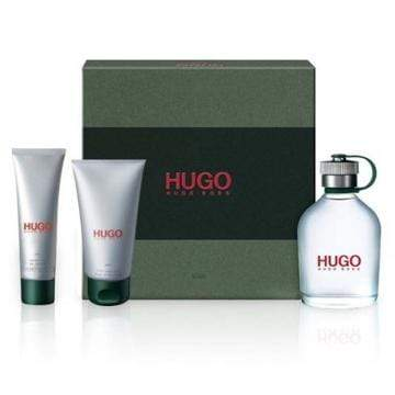 Hugo Boss Perfumes Hugo Boss Green - Eau De Toilette, 125ml + Shower Gel 50ml + After Shave Balm 75 Ml Gift Set
