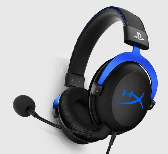 HYPERX Electronic HyperX Cloud Blue Gaming Headset For PS4