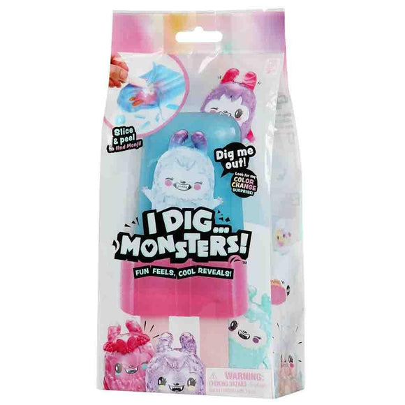 I Dig Monster Toys I Dig Monster - S1 Popsicle Pack - Assorted (75536)