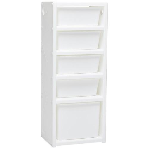 iFam Toys iFam - Mypick Modular Organizer 5-level (Single - White)