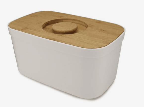 JOSEPH JOSEPH Home & Kitchen Joseph Joseph Bread Bin With Cutting Board Lid White