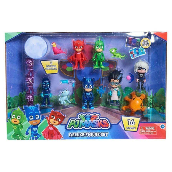 Just play toys PJ Masks Deluxe Figure Set (16 Pack)