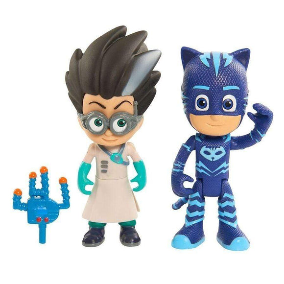 Just play toys PJ Masks Light-up Catboy and Romeo Action Figure Set