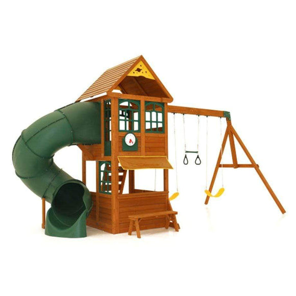 KidKraft Outdoor Kidkraft Forest Ridge Swing Set