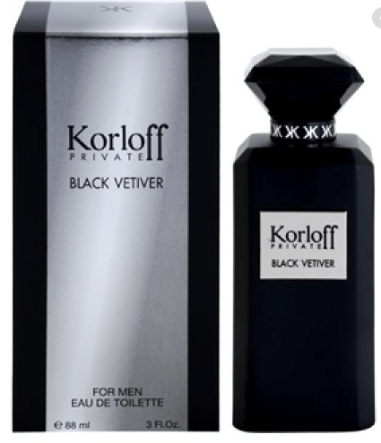 Korloff Perfumes Korloff Private Black Vetiver (M) Edt 88Ml