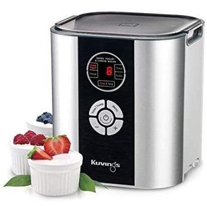 Kuvings Appliances Kuvings Greek Yogurt and Cheese Maker, Silver