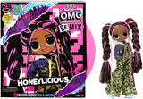 L.O.L Toys L.O.L. Surprise! O.M.G. Remix Honeylicious Fashion Doll– 25 Surprises with Music