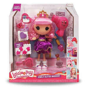 Lalaloopsy toys Lalaloopsy Jewel's Glitter Makeover Doll with Accessories (33 cm)