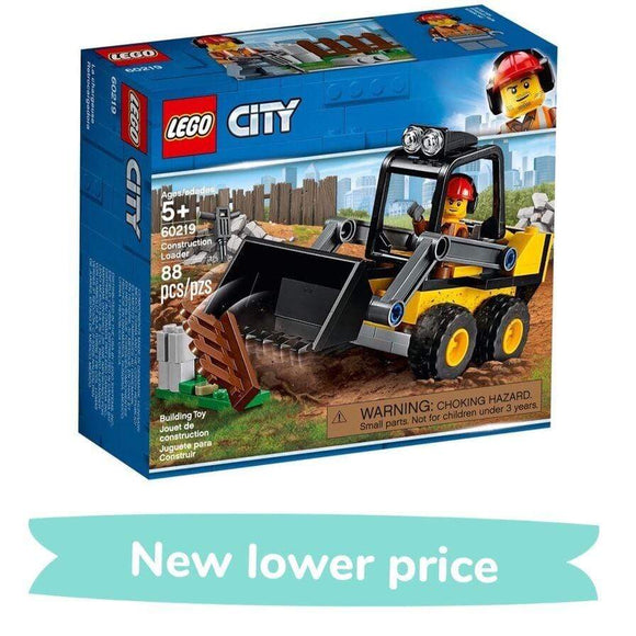 LEGO Toy LEGO City Construction Loader (88 Pieces)