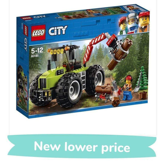 LEGO Toy LEGO City Forest Tractor (174 pieces)
