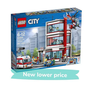 LEGO Toy LEGO City Hospital (861 Pieces)