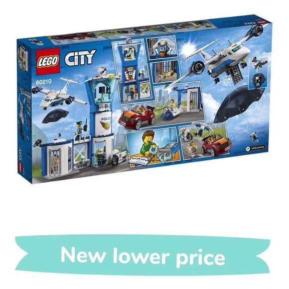 LEGO Toy LEGO City Sky Police Air Base (529 Pieces)