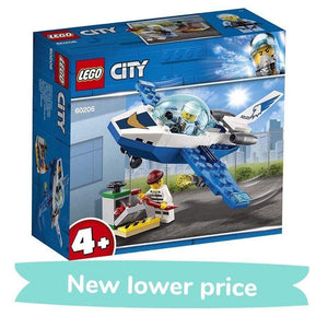 LEGO City Sky Police Jet Patrol (54 Pieces)