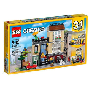 LEGO Toy LEGO Creator 3-in-1 Park Street Townhouse (566 Pieces)