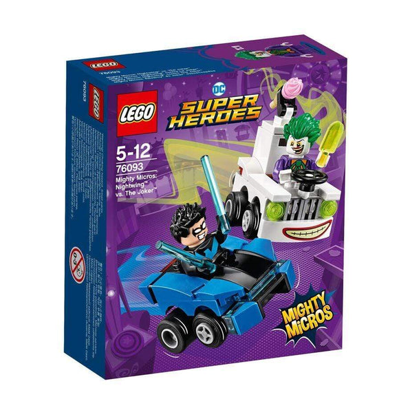 LEGO Toy LEGO DC Comics Super Heroes Mighty Micros: Nightwing vs. The Joker (84 Pieces)