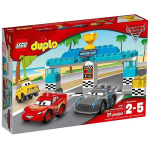 LEGO Toy LEGO Duplo Cars 3 Piston Cup Race (31 pieces)