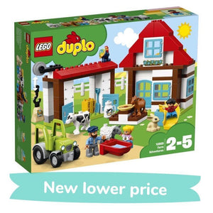 LEGO Toy LEGO Duplo Farm Adventures (104 pieces)
