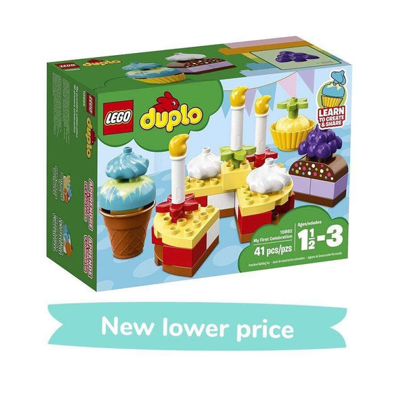 LEGO Toy LEGO Duplo My First Celebration (41 pieces)