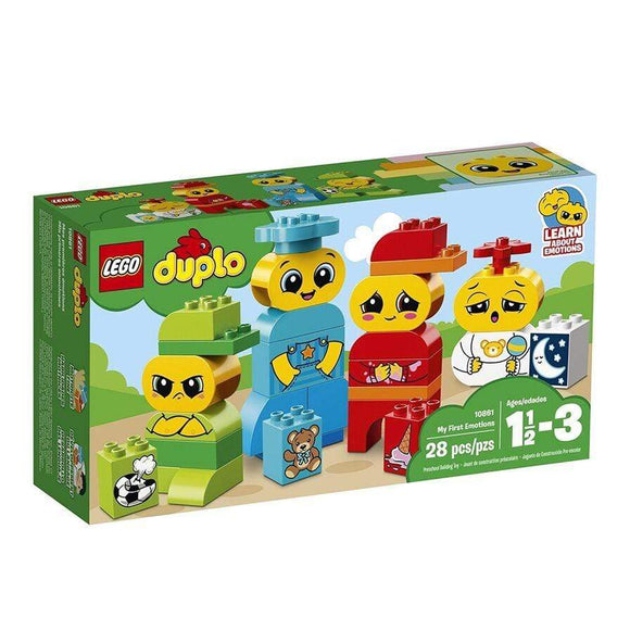 LEGO Toy LEGO Duplo My First Emotions (28 pieces)