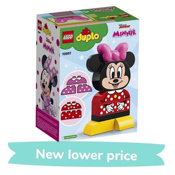 LEGO Toy LEGO Duplo My First Minnie Build (10 Pieces)