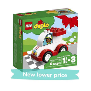 LEGO Toy LEGO Duplo My First Race Car (6 pieces)