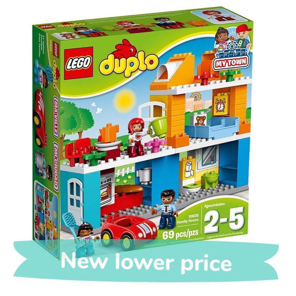 LEGO Toy LEGO Duplo My Town Family House (69 pieces)