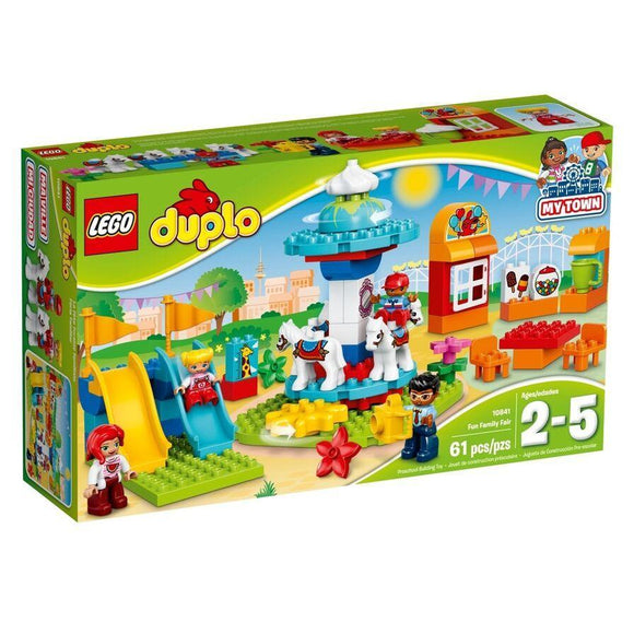 LEGO Toy LEGO Duplo My Town Fun Family Fair (61 pieces)