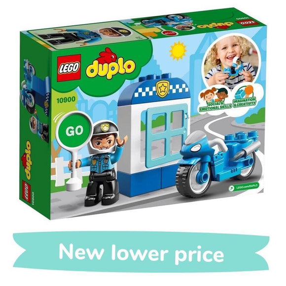 LEGO Toy LEGO Duplo Police Bike (8 Pieces)