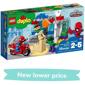 LEGO Toy LEGO Duplo Spider-Man & Hulk Adventures (38 Pieces)