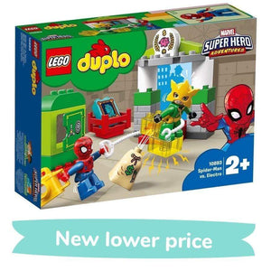 LEGO Toy LEGO Duplo Super Hero Adventures Spider-Man vs. Electro (29 Pieces)