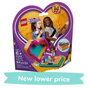 LEGO Toy LEGO Friends Andrea's Heart Box (84 Pieces)