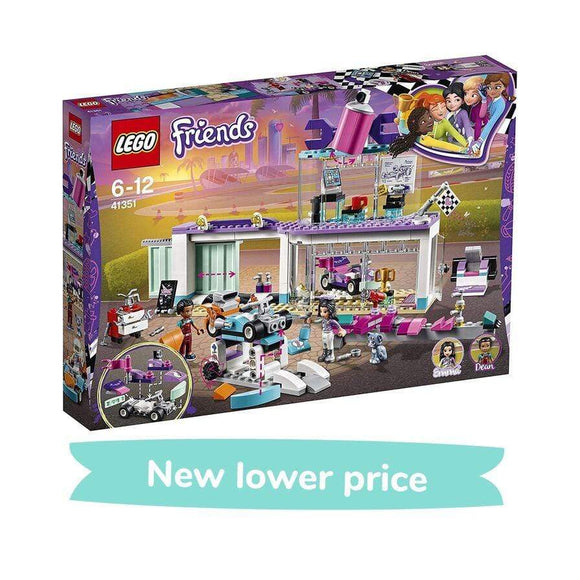 LEGO Toy LEGO Friends Creative Tuning Shop (413 Pieces)
