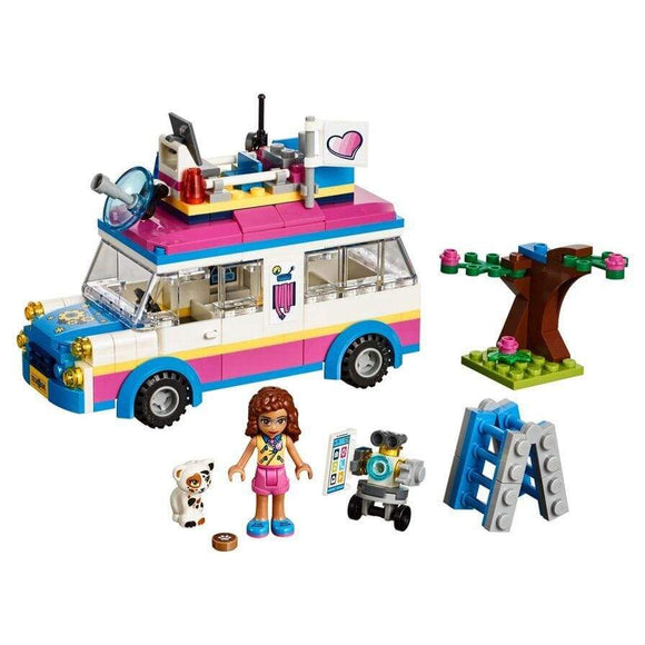 LEGO Toy LEGO Friends Olivia's Mission Vehicle (223 pieces)