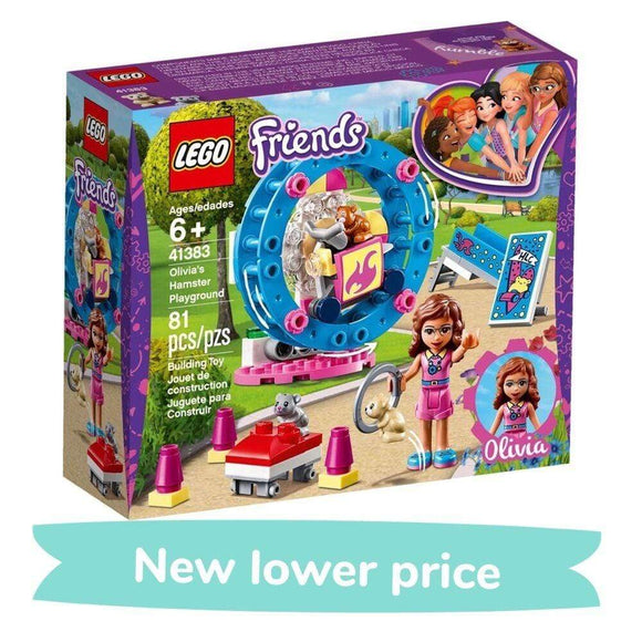 LEGO Toy LEGO Friends Stephanie's Horse Jumping (337 Pieces)