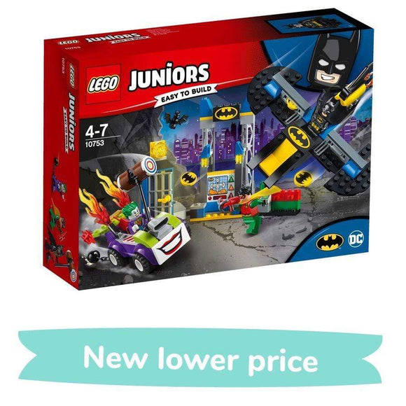 LEGO Toy LEGO Juniors The Joker Batcave Attack (151 Pieces)