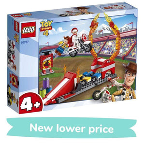 LEGO toy LEGO Juniors Toy Story 4 Duke Caboom's Stunt Show (120 Pieces)