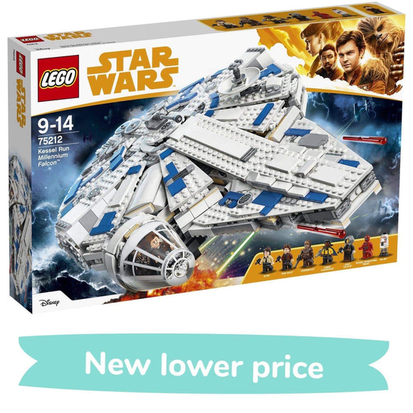 LEGO Toy LEGO Kessel Run Millennium Falcon (1414 Pieces)