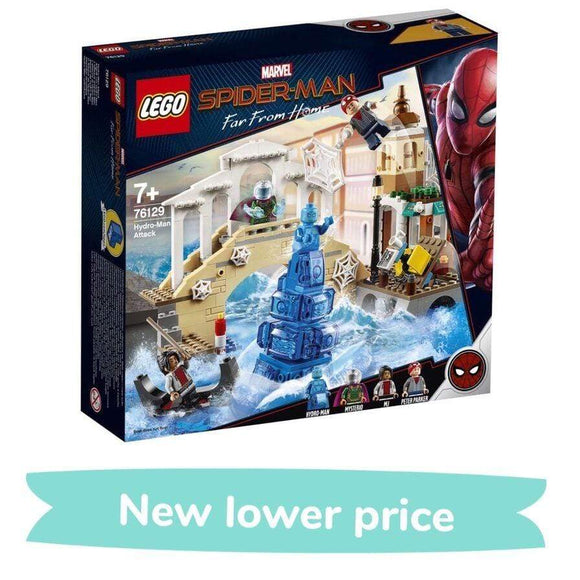 LEGO Toy LEGO Marvel Super Heroes Hydro-Man Attack (471 Pieces)