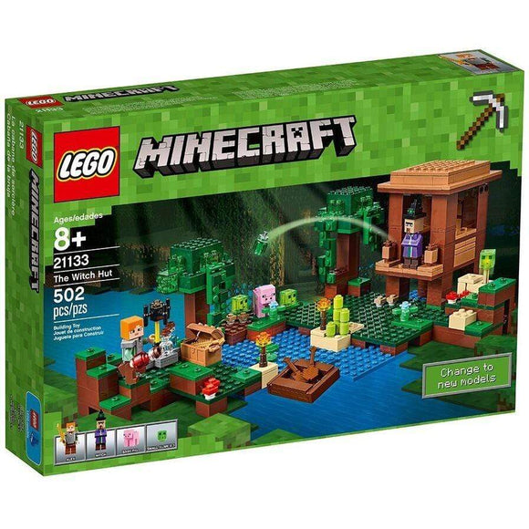 LEGO Toy LEGO Minecraft The Witch Hut (502 pieces)