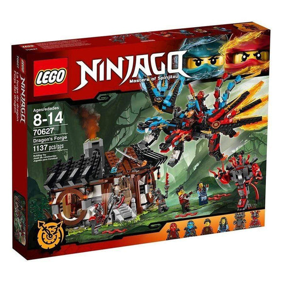 LEGO Toy LEGO Ninjago Dragon's Forge (1137 Pieces)