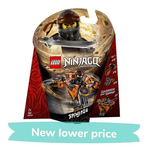LEGO Toy LEGO Ninjago: Masters of Spinjitzu Cole (117 Pieces)
