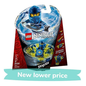 LEGO Toy LEGO Ninjago: Masters of Spinjitzu Jay (97 Pieces)